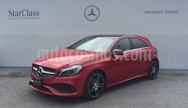 foto Mercedes Benz Clase A 200 CGI Sport S/Techo Aut usado (2017) color Rojo precio $419,900