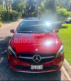 Mercedes Benz Clase A 200 CGI Urban Aut usado (2017) color Rojo precio $340,000
