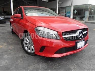Foto venta Auto usado Mercedes Benz Clase A 5p 200 CGI L4/1.6 Aut (2016) color Rojo precio $295,000