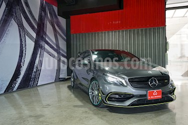 Mercedes Benz Clase A A 45 AMG World Champion Edition  usado (2017) color Gris Montana precio $890,000