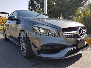 Foto venta Auto usado Mercedes Benz Clase A A 45 AMG World Champion Edition  (2017) color Gris Montana precio $830,000