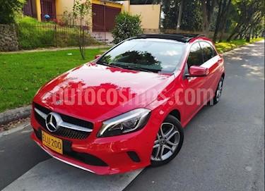 Mercedes Benz Clase A 200 Aut usado (2018) color Rojo Jupiter precio $79.800.000