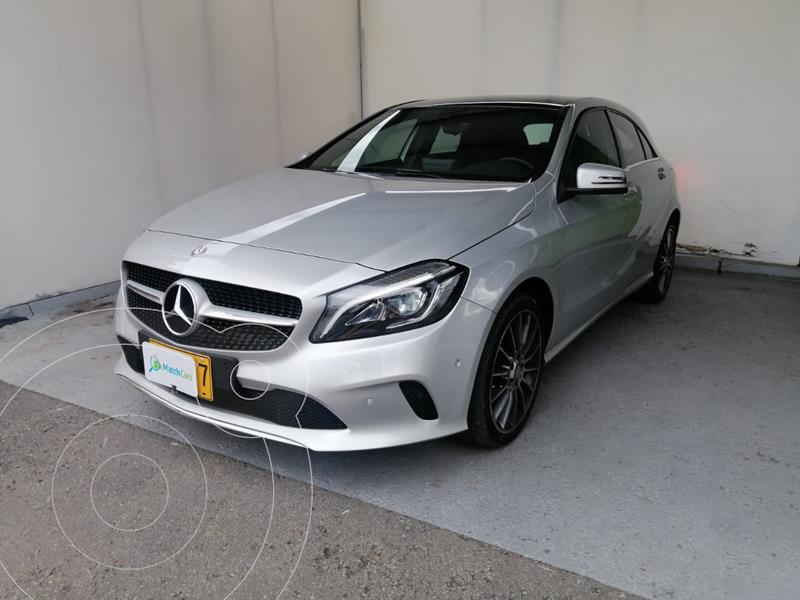 Mercedes Benz Clase A 200 Aut usado (2017) color Plata Polar precio $70.990.000