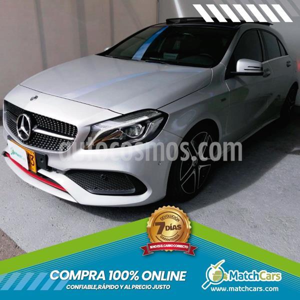 Mercedes Benz Clase A 250 Sport Aut  usado (2018) color Plata Polar precio $97.990.000