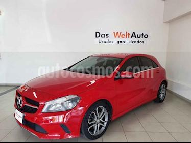 Mercedes Benz Clase A 5p 200 Style L4/1.6 Aut usado (2017) color Rojo precio $314,995