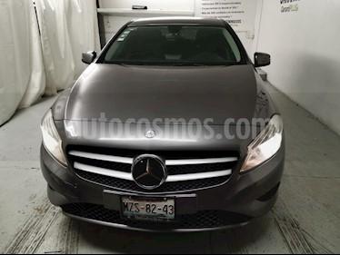 Mercedes Benz Clase A 180 CGI Aut usado (2015) color Gris Montana precio $260,000