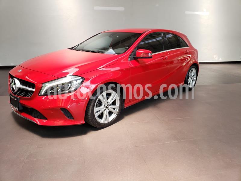 Mercedes Benz Clase A 200 CGI Urban Aut usado (2018) color Rojo precio $399,900