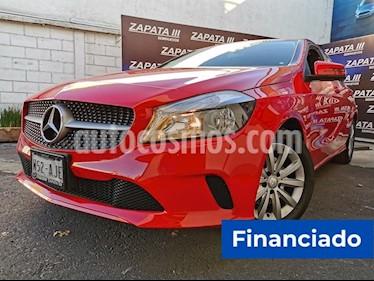 Mercedes Benz Clase A 200 CGI usado (2017) color Rojo Jupiter precio $71,250