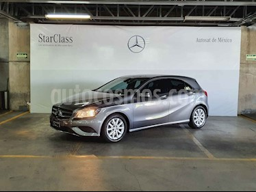 Mercedes Benz Clase A 5p 180 CGI L4/1.6/T Aut usado (2016) color Gris precio $249,000