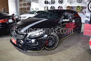 Mercedes Benz Clase A 5p 45 AMG Yellow Night L4/2.0/T  Aut usado (2018) color Negro precio $859,900