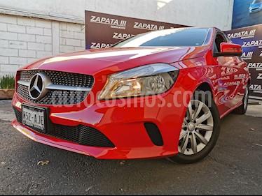 Mercedes Benz Clase A 200 CGI Style usado (2017) color Rojo Jupiter precio $275,000
