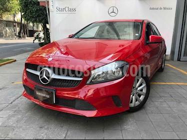 Mercedes Benz Clase A 200 CGI Style usado (2017) color Rojo precio $310,000