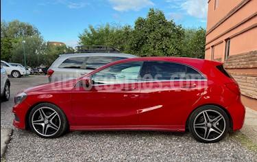 Mercedes Benz Clase A 200 CGI Sport Aut usado (2015) color Rojo Jupiter precio $275,000