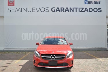 Mercedes Benz Clase A 200 CGI Urban Aut usado (2018) color Rojo precio $420,000