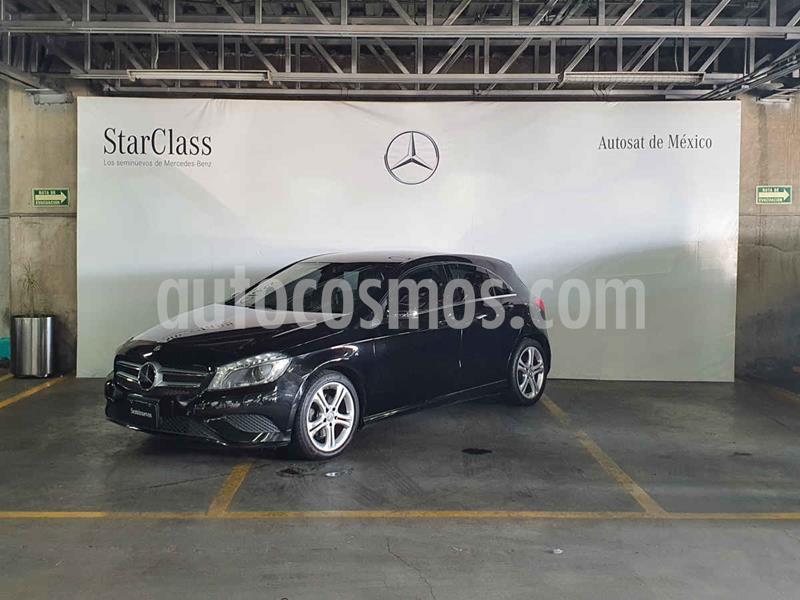 Mercedes Benz Clase A 200 CGI Urban Aut usado (2016) color Negro precio $319,000
