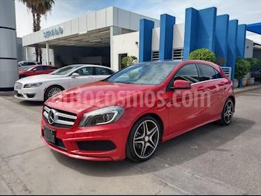 Mercedes Benz Clase A 200 CGI Sport Aut usado (2015) color Rojo precio $230,000