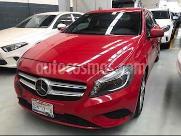 Mercedes Benz Clase A 5p 200 CGI L4/1.6/T Aut usado (2016) color Rojo precio $285,000