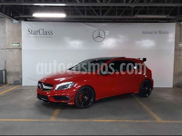 Mercedes Benz Clase A 5p 45 AMG L4/2.0/T Aut usado (2015) color Rojo precio $529,000