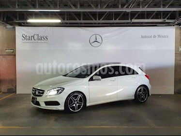 Mercedes Benz Clase A 5p 200 CGI Sport L4/1.6/T Aut sin Q/C usado (2016) color Blanco precio $349,000