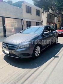 Mercedes Benz Clase A 180 CGI Aut usado (2016) color Gris Montana precio $250,000