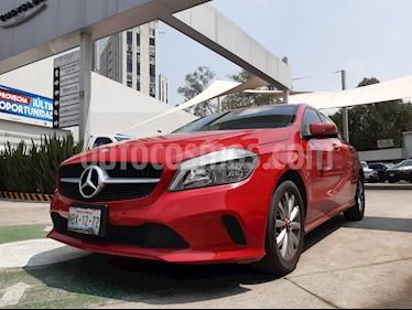 Mercedes Benz Clase A 200 CGI Sport Aut usado (2016) color Rojo Jupiter precio $260,000