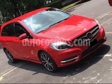 Foto venta Auto usado Mercedes Benz Clase B 180 CGI Exclusive (2012) color Rojo Jupiter precio $199,000