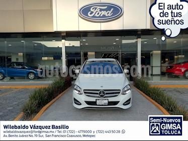 Foto venta Auto usado Mercedes Benz Clase B 180 CGI Exclusive (2015) color Blanco precio $269,000