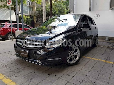 Mercedes Benz Clase B 5p B 180 Exclusive L4/1.6/T Aut usado (2015) color Negro precio $275,000