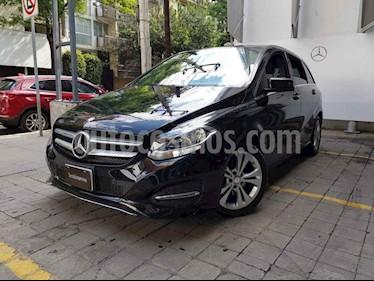 Mercedes Benz Clase B 5p B 180 Exclusive L4/1.6/T Aut usado (2015) color Negro precio $275,000