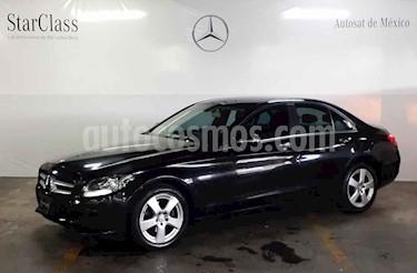 Foto venta Auto usado Mercedes Benz Clase C 180 Aut (2015) color Negro precio $299,000