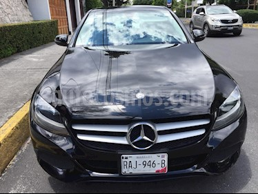 Foto Mercedes Benz Clase C 180 Aut usado (2016) color Negro Magnetita precio $311,000