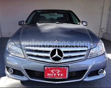 Foto venta Auto usado Mercedes Benz Clase C 180 Aut (2012) color Gris precio $195,000