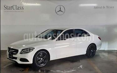 Mercedes Benz Clase C 180 Aut usado (2018) color Blanco precio $419,000