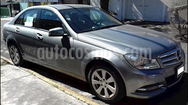 Mercedes Benz Clase C 180 Aut usado (2013) color Plata precio $205,000
