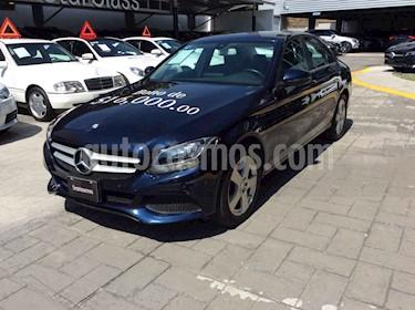 Mercedes Benz Clase C 180 Aut usado (2017) color Azul precio $390,000