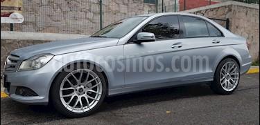 Mercedes Benz Clase C 180 CGI Aut NAVI usado (2013) color Plata Paladio precio $219,500