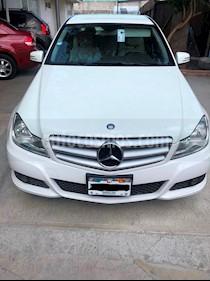 Mercedes Benz Clase C 180 CGI Aut NAVI usado (2012) color Blanco precio $180,000