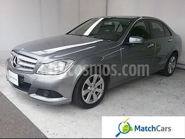 Foto venta Carro usado Mercedes Benz Clase C 180 CGI Aut (2013) color Plata Iridio precio $58.990.000