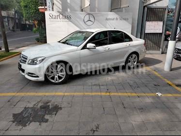 Foto venta Auto usado Mercedes Benz Clase C 180 CGI Aut (2014) color Blanco precio $249,000