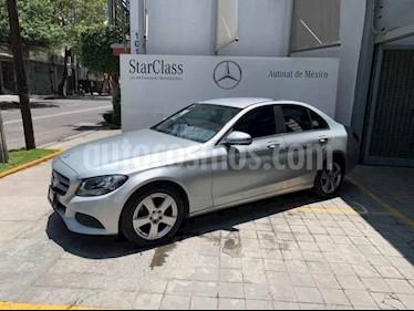 Foto venta Auto usado Mercedes Benz Clase C 180 CGI Aut (2014) color Gris precio $270,000