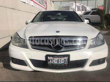 Foto venta Auto usado Mercedes Benz Clase C 180 CGI Aut (2013) color Blanco precio $208,000