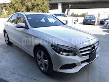 Foto venta Auto usado Mercedes Benz Clase C 180 CGI Aut (2015) color Blanco precio $290,000