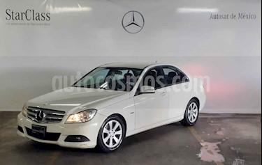 Mercedes Benz Clase C 180 CGI Aut usado (2012) color Blanco precio $189,000