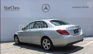 Foto venta Auto usado Mercedes Benz Clase C 180 CGI Aut (2016) color Plata precio $329,900