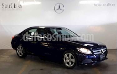 Foto venta Auto usado Mercedes Benz Clase C 180 CGI Aut (2016) color Gris precio $319,000