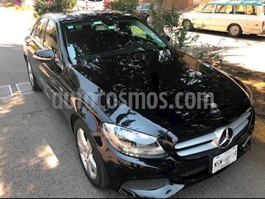 Mercedes Benz Clase C 180 CGI Aut usado (2015) color Negro Obsidiana precio $295,000