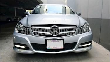 Mercedes Benz Clase C 180 CGI Coupe Aut  usado (2013) color Plata Iridio precio $255,000