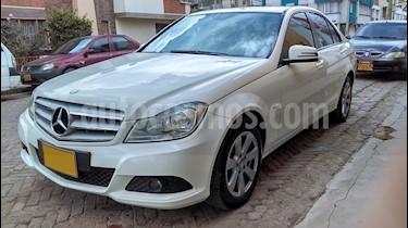 Mercedes Benz Clase C 180 CGI  usado (2012) color Blanco precio $60.000.000