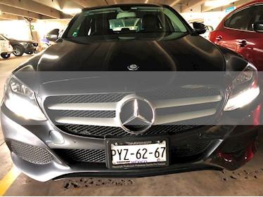 Mercedes Benz Clase C 180 CGI usado (2017) color Gris precio $380,000