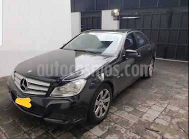 Mercedes Benz Clase C 180 CGI usado (2012) color Negro precio $205,000